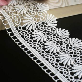 bridal embroidery lace  by the yard